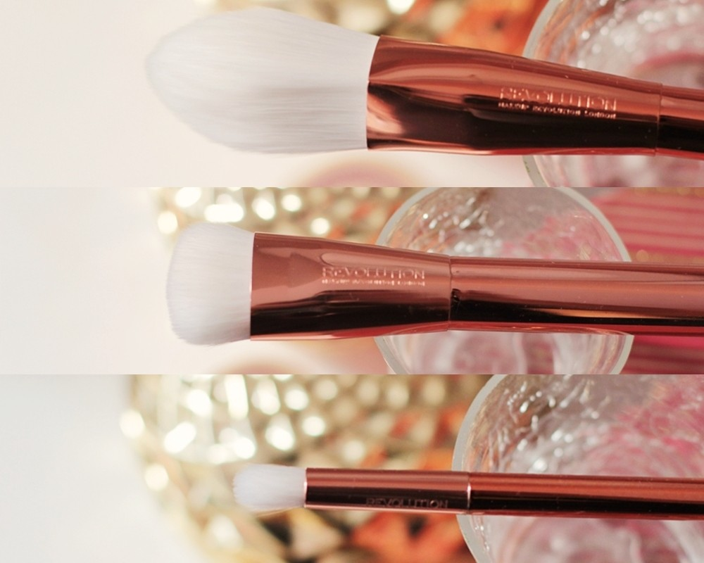 makeup revolution ultra brushes rose gold (1)