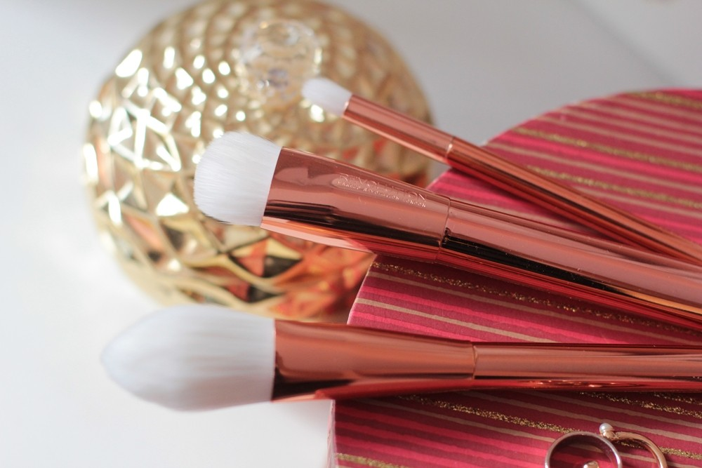 makeup revolution ultra brushes rose gold (2)